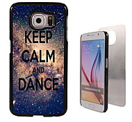 Keep Calm and Dance Design Aluminum High Quality Case for Samsung Galaxy S6 Edge G925F