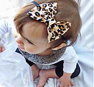 Baby Headbands  Girls Cheetah Baby Bow Headband