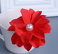 Retro Flower Dish Hair Pin