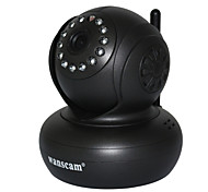 Wanscam® Wireless Mini Ip Camera with Pan Title and P2P Free Supporting 32G TIF Card