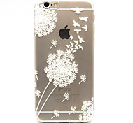 Chebi Dandelion Pattern TPU Cell Phone Soft Shell For iPhone 6s 6 Plus