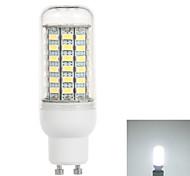 GU10 6W 750lm 6500K 69-5730 SMD LED Cold White Light Corn Lamp (110V)
