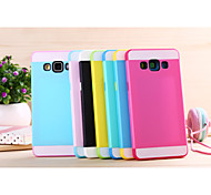 For Samsung Galaxy Case Shockproof Case Back Cover Case Solid Color PC Samsung A5 / A3