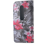 Elegant Floret Leather Wallet Flip Stand Cover Case For  Motorola MOTO G3 G 3nd Gen XT1552