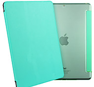 ESR Yippee Color Series Light Weight Tri-fold Protective PU Leather Case for iPad Mini 3/2/1-Mint Green