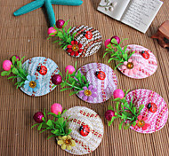 Flowers Mushrooms Hairpin Travel Essential Hair Accessories Funny Necessary To Sell Meng Gift Idea(Random Color)