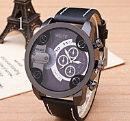 Men's  Watch  High Quality Personality Big Dial Men Strap Watch Cool Watch Unique Watch