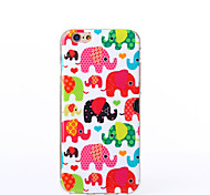 Baby Elephant Pattern TPU Soft Case for iPhone 6/iPhone 6S