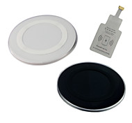 I-WF-WC1-ip Wireless Charger Set for iphone6/6plus/5S/5(Black/White)