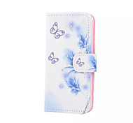 Butterfly Pattern With Diamond Phone Case For iPhone 5/5S