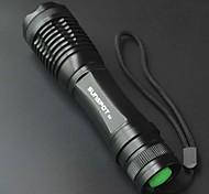 Lanternas LED / Lanternas de Mão (Foco Ajustável / Recarregável / Superfície Antiderrapante / High Power) - LED 5 Modo 800 LumensCree