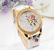punk flower Diamond Hot sell Ladies'  Watch freeshipping
