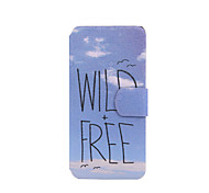 Wild Free Pattern PU Leather Full Body Case with Stand for iPod Touch 5/6