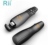 rii R900 2.4ghz mini mouse aria remoto puntatore laser presentatore senza fili