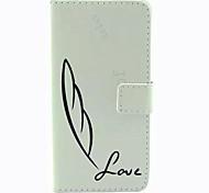 Feder-Muster PU-Leder-Tasche für Samsung Galaxy S6 / S6 Galaxienrand / galaxy s6 Kante sowie