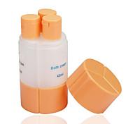 viaggiare bottiglie crema 3 in 1 bottiglie di vuoto (spedizione a caso)