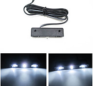 Three Straw Hat Lamp / Decorative Lights Motorcycle And Car License Plate Light / Modified Small Lights