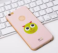 cute pink Anti-Strahlen-iphone 6s / 6 Bei Graphen-Kühl Telefon Aufkleber decken mit Panda für Apple iPhone 6s / 6