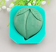 Peach Shaped Soap Molds Mooncake Mould Fondant Cake Chocolate Silicone Mold, Decoration Tools Bakeware