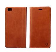 Mehrfarben-Öl Seitenteil erste Schicht aus Leder Brieftasche Holster für Huawei P8 / p8 lite (verschiedene Farben)