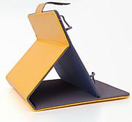 colori solido modello cuoio dell'unità di elaborazione di alta qualità con il caso del basamento per 7 pollici e 8 pollici tablet