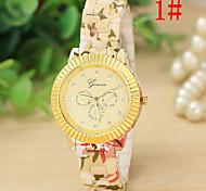 Ladies's Watch Rose Floral Fashion Watch