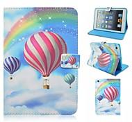 Farbe Ballon rund um die Öffnung mit Ständer Schutzhülle für iPad 4/3/2