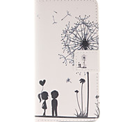 Dandelion Patterns PU leather phone Case For Huawei P8 Lite