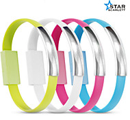 Fashion Wristband Data Charging Cable for Micro Usb Device