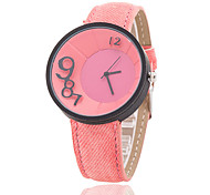 Xu™ Women's Denim Belt Three-dimensional Digital Quartz Watch