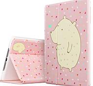 ESR Illustrators Series Folio Smart Case with Auto Wake Up/Sleep Function for iPad Air- Adorable Bear