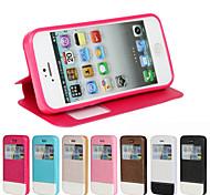 pu aprire la finestra cellulare custodia per iphone 5 / 5s colori assortiti