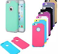 Outdoor Following from PC Silicone Hockey Protective Sleeve for iPhone6 (Assorted Color)