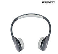 Pisen Bluetooth Headset Retractable Foldable Headband Standard 3.5mm Over-ear Headphone Black