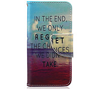 Red Sea Pattern PU Leather Full Body Case for iTouch 5