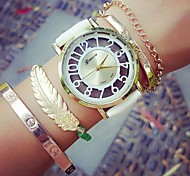 Women Watches Clothing Accessories Color Digital Hollow Geneva Fashion Watch