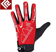 Activity/ Sports Gloves Cycling/Bike Women's / Men's / Unisex Full-finger Gloves / Winter Gloves Anti-skidding Autumn/Fall / Winter Red M-