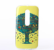 Owls Pattern TPU Soft Case for Motorola Moto G3