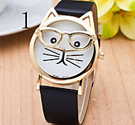 Ladies's Watch The Latest Sven Fashion Cat Quartz Strap Watch