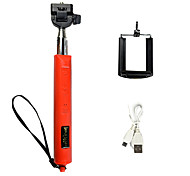 Extendable Zoomed Wireless Bluetooth Monopod Selfie Stick with Remote Shutter Foldable Size:30X12.5X4CM