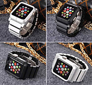 Newest Fashion Luxury Clip Style Aluminum Alloy Strap Watch Band Wrist Strap For Apple Watch 42mm Aluminium Alloy