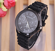 Fashion Personalized color Watch  dial lady silicone watch