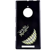 Smile  Pattern PC Hard Case For Nokia Lumia 830