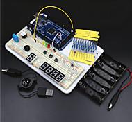 Mega2560 piattaforma esperimento / Mega2560 r3 kit di apprendimento di base per arduino - bianco