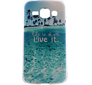Beautiful Beaches Live Pattern PC Hard Back Cover Case for Samsung Galaxy J1/G530/G360/G386f