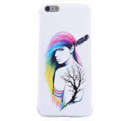 Beauty Pattern TPU Cell Phone Soft Shell For iPhone 6