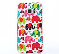 Baby Elephant Pattern TPU Soft Case for Multiple Samsung Galaxy S6/S6 Edge/Galaxy S6 Edge Plus