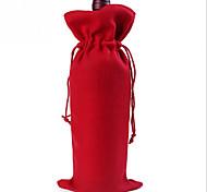 Weihnachten wesentliche Weihnachtsmann-Weihnachtsrotweinflasche Taschen Geschenk-Taschen