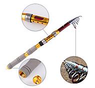 JXKH Vara de Pesca de Barco 2.7M M Isco de Arremesso Metal / Carbono Haste