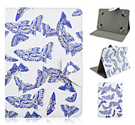 Butterfly Pattern High Quality PU Leather with Stand Case for 10 Inch Universal Tablet